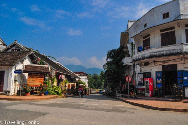 Street scene from Laung Prabang