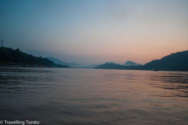 Great dusk scene