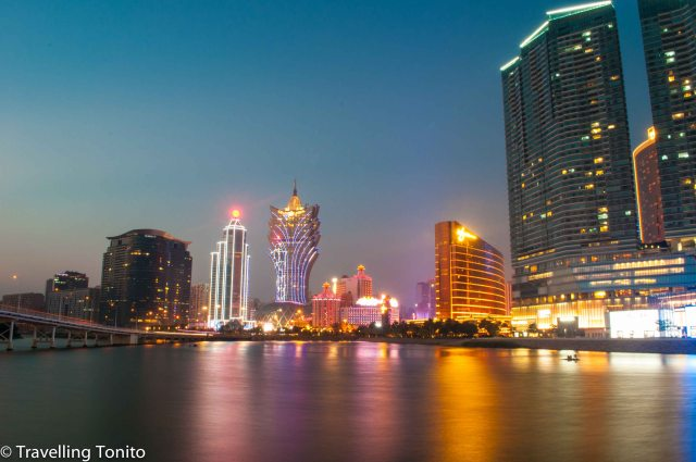 Macau's skyline