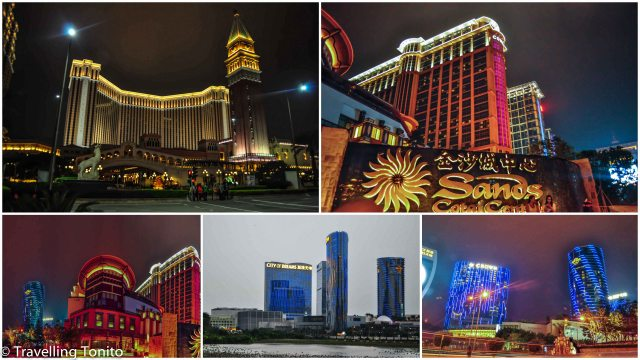 The casinos from Taipa Islanf