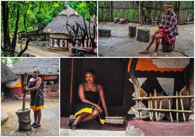 The Pedi village