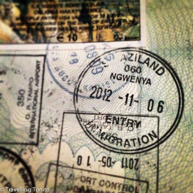 Swazi stamp