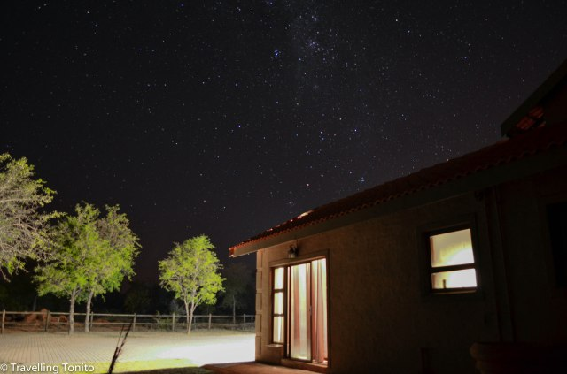 The bushveld night sky