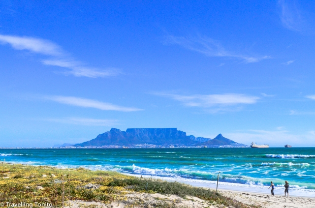 Table mountain in its infinite glory