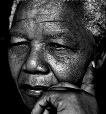 My favourite image of Madiba by Herb Ritts